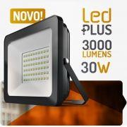 Refletor de Led 30W 3000 Lúmens - Spotlux