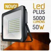 Refletor de Led 50W  5000 Lúmens - Spotlux