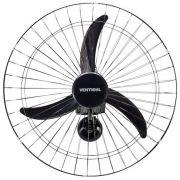 Ventilador Parede Grade 60cm Bivolt Preto