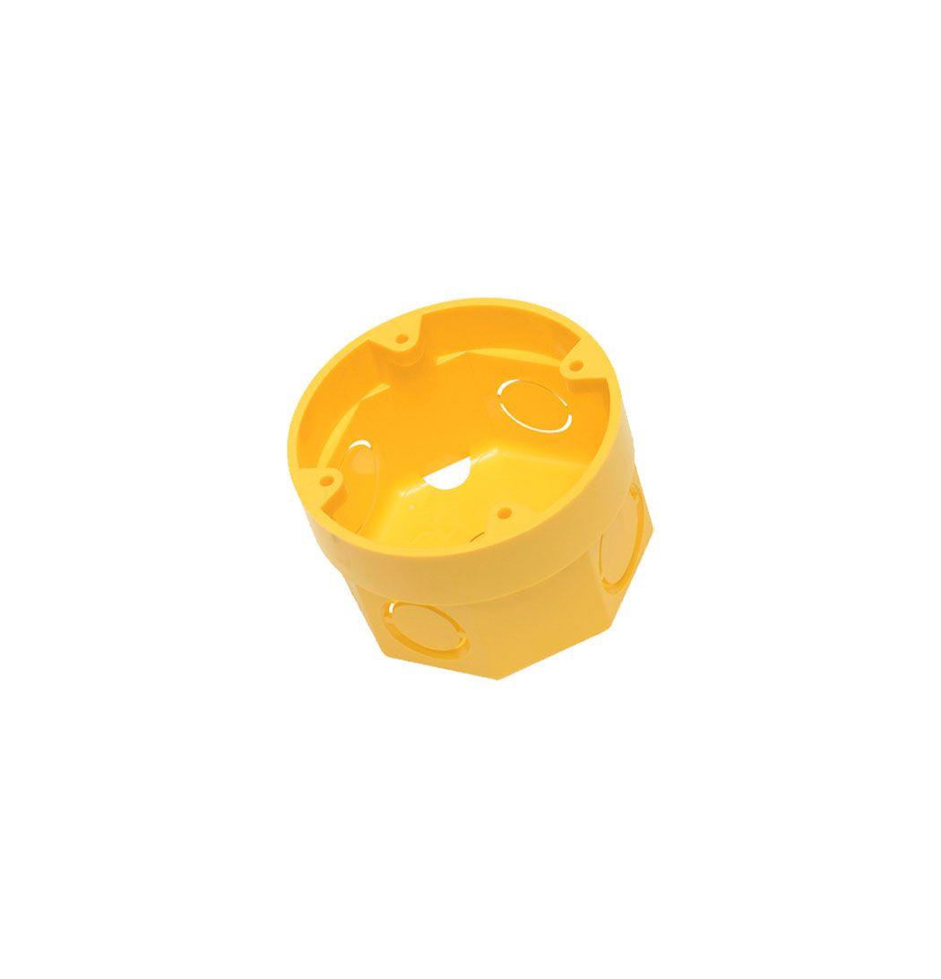 Caixa de Luz 3x3 interna amarela - Tigre