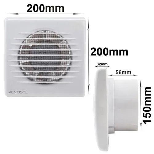 Exaustor 15cm p/banheiro 127v EXB150 4624