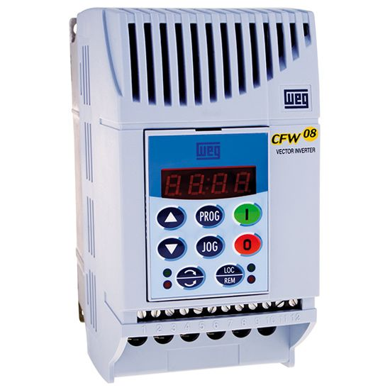 Inversor de Frequência Trif 380V-480V 10CV 16A CFW08