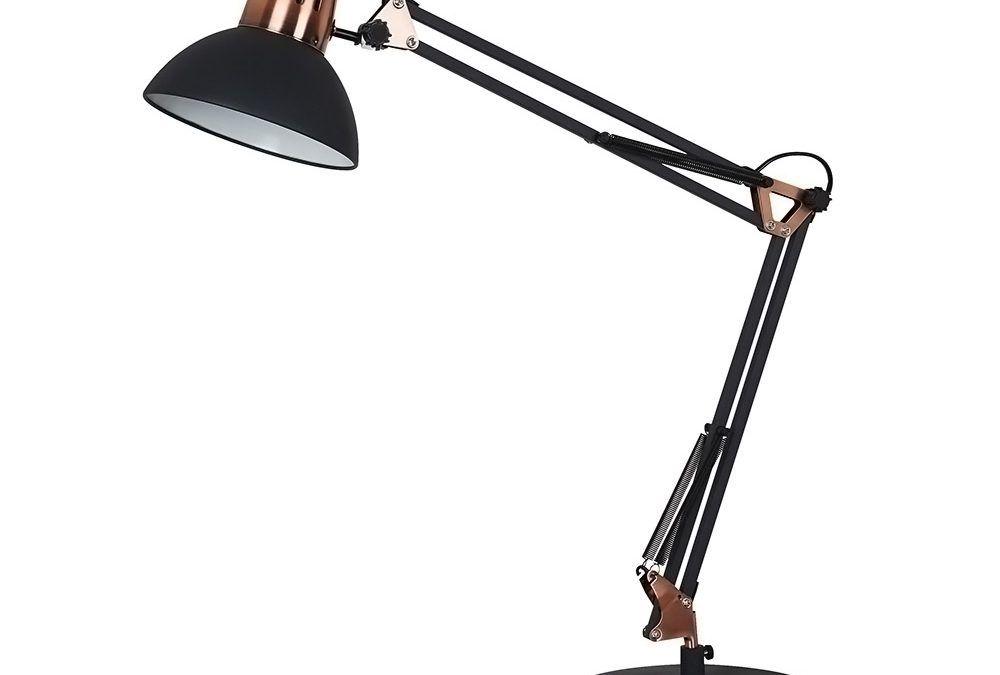 Luminária de Mesa LM860 Branca ou Preta - Newline