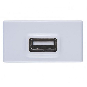 Modulo de Tomada USB Bivolt Branco - Tramontina