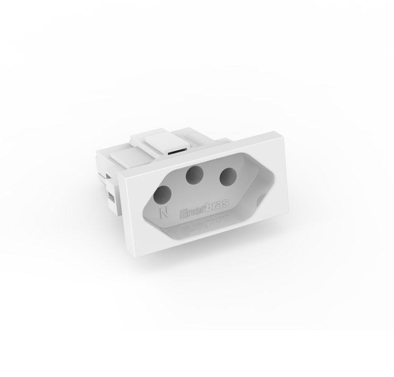 Modulo Tomada 10A - Enerbras Beleze