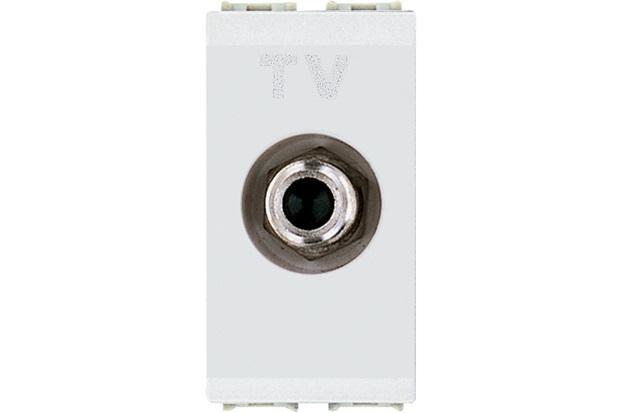 Módulo Tomada para Antena de Tv para Cabo Coaxial 9mm Thesi Up