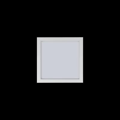 Painel Led Embutir Recuado 20 x 20 16W  3000K - Romalux