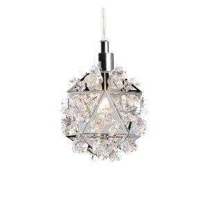 Pendente Geo 10cm cristal-clear  - Altaluce