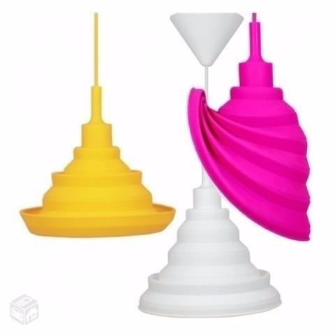 Pendente Silicone Moldável 1x E-27 Make Color - Taschibra