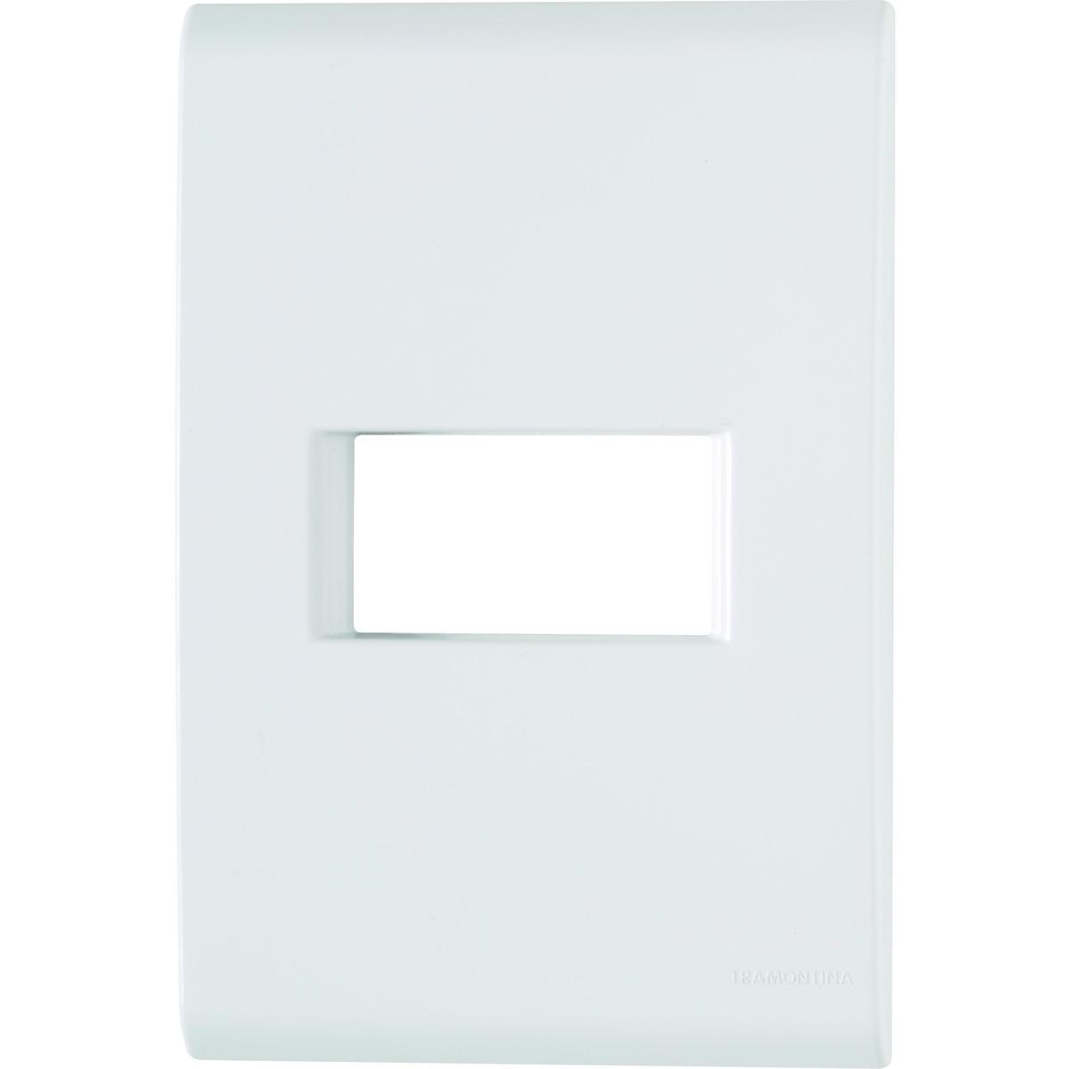 Placa 1 posto horizontal - 4x2 - Tramontina