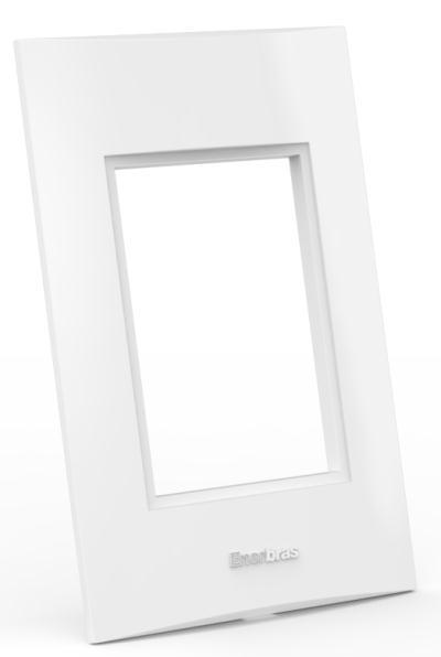 Placa Espelho 3 Posto 4x2 - Enerbras Beleze