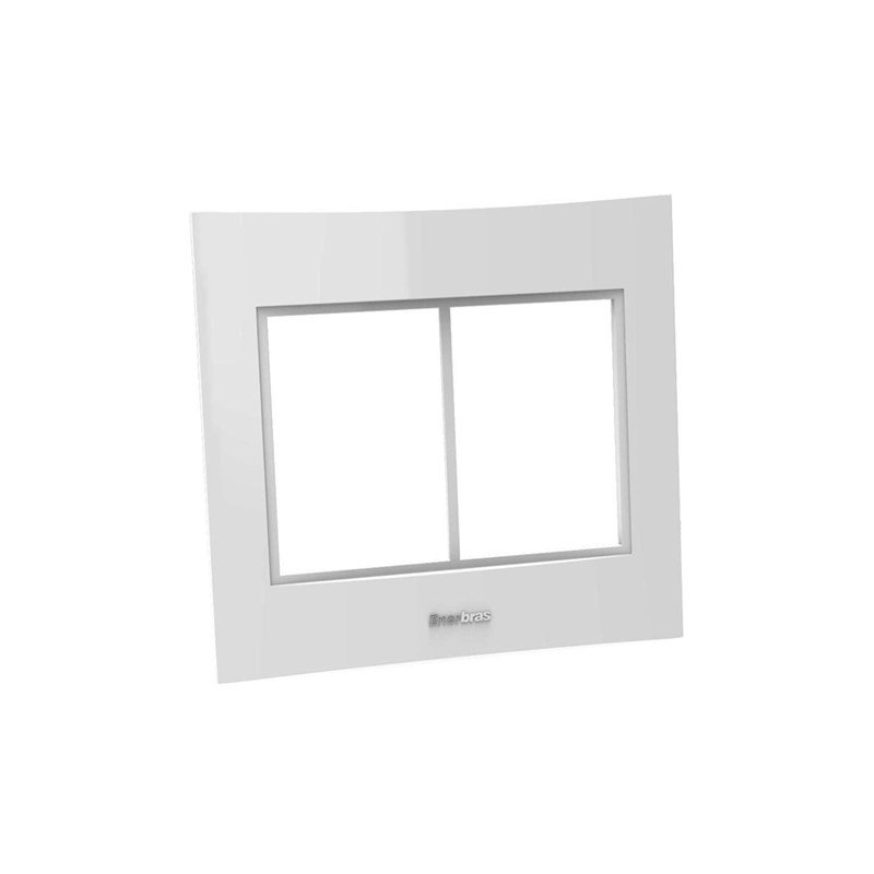 Placa Espelho 6 Posto 4x4 - Enerbras Beleze