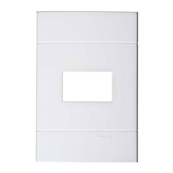 Placa sem Suporte 1 Posto 4x2 Branco Prime Decor Schneider