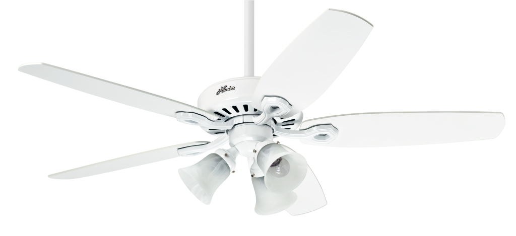 Ventilador de Teto 5 Pás Builder Plus Branco - Hunter