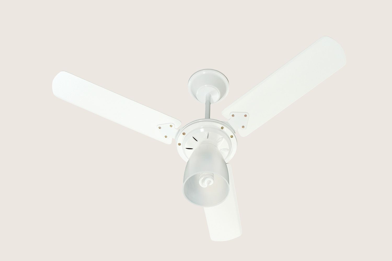 Ventilador Teto 3P 127v Marbella BR Pás Branca