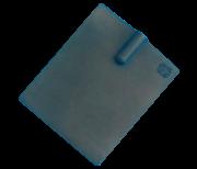 Eletrodo de Silicone 10 X 8 cm - Corrente Russa
