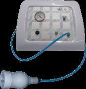Kit Vácuoterapia Aparelho + Ventosas + Pump Up + Acessórios - Rede Dermato