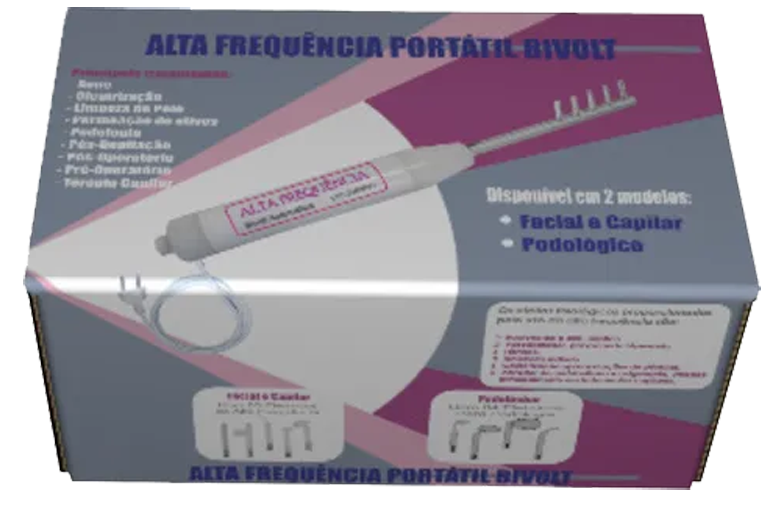 Alta Frequência Bivolt Automático - Rede Dermato