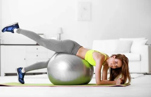 Bola Pilates Gym Ball Spss 75cm Ginástica