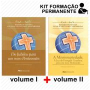 FORMAÇÃO PERMANENTE KIT - VOLUME I + VOLUME 2 - ROTEIRO DE ESTUDOS ESCOLAS VIVENCIAIS E ASSEMBLEIAS