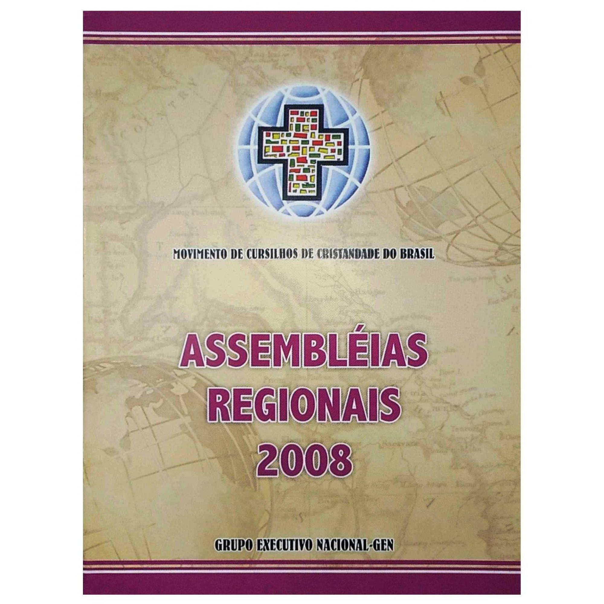 Roteiro de Estudos - Assembleias Regionais - Subsídio AR. 2008  - Cursilho