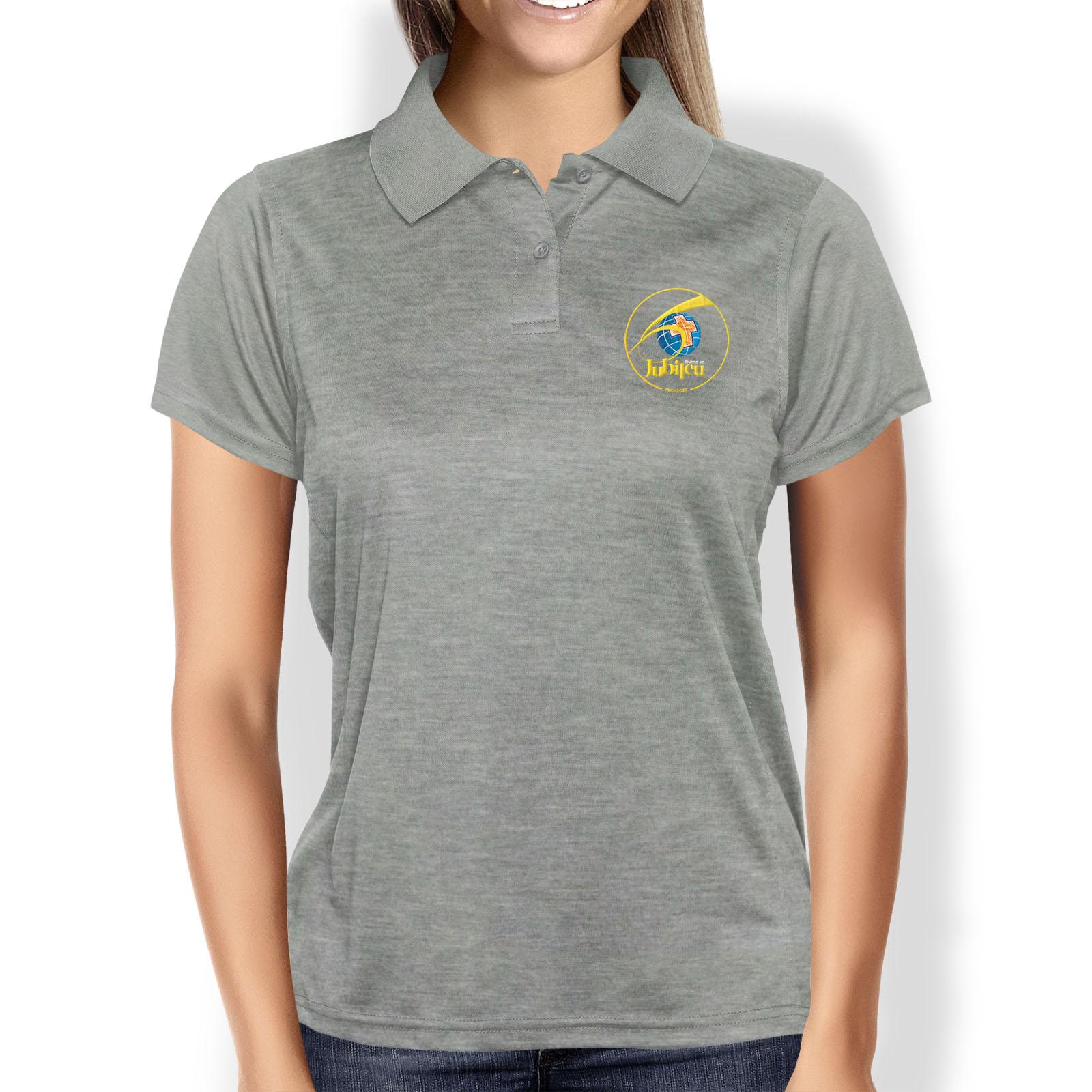 Camisa Polo Feminina Baby-Look Rumo ao Jubileu 60 anos  - Cursilho