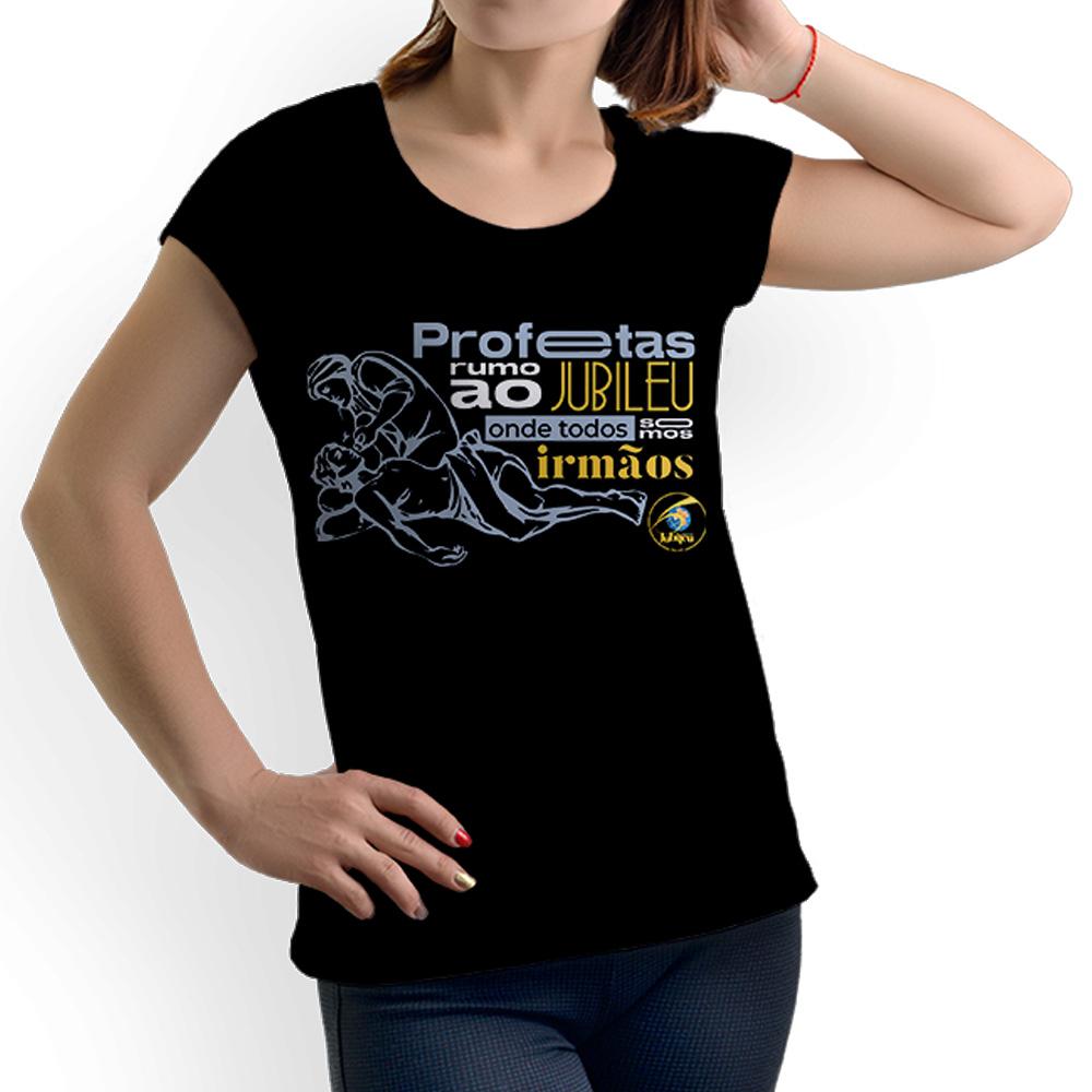 Camiseta Feminina Baby-Look Rumo ao Jubileu 60 anos  - Cursilho