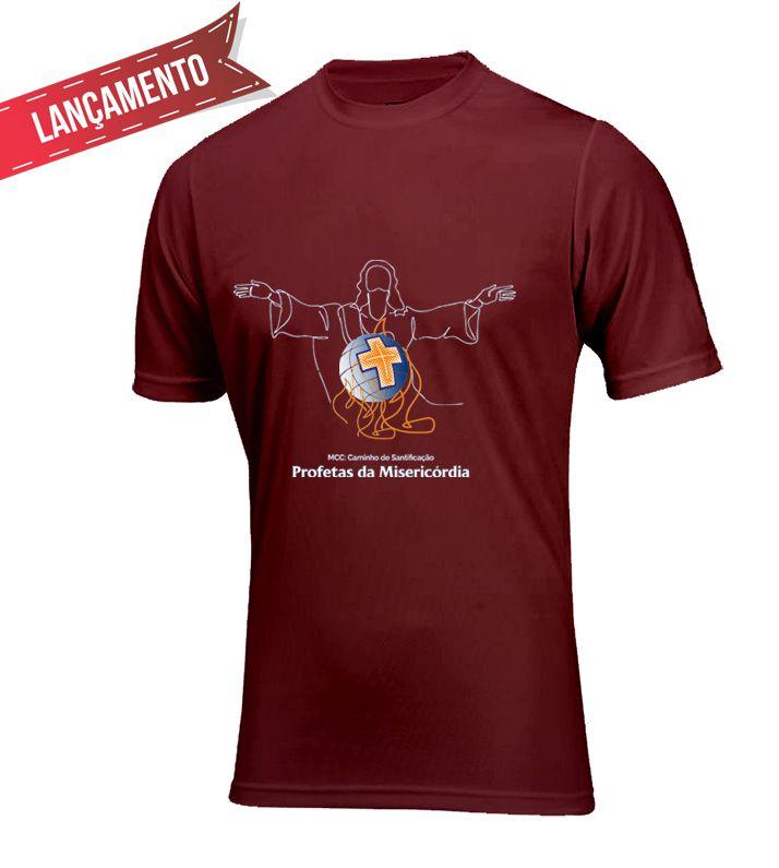 Camiseta Unissex Bordô - Profetas da Misericórdia