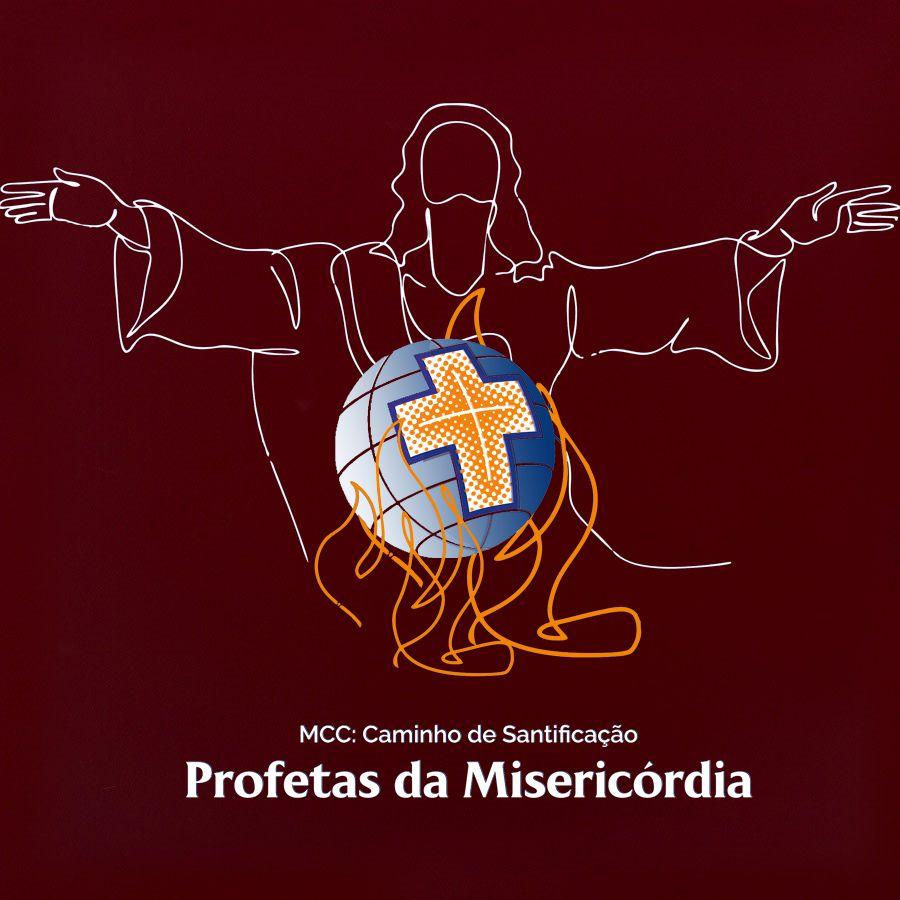 Camiseta Unissex Bordô - Profetas da Misericórdia  - Cursilho
