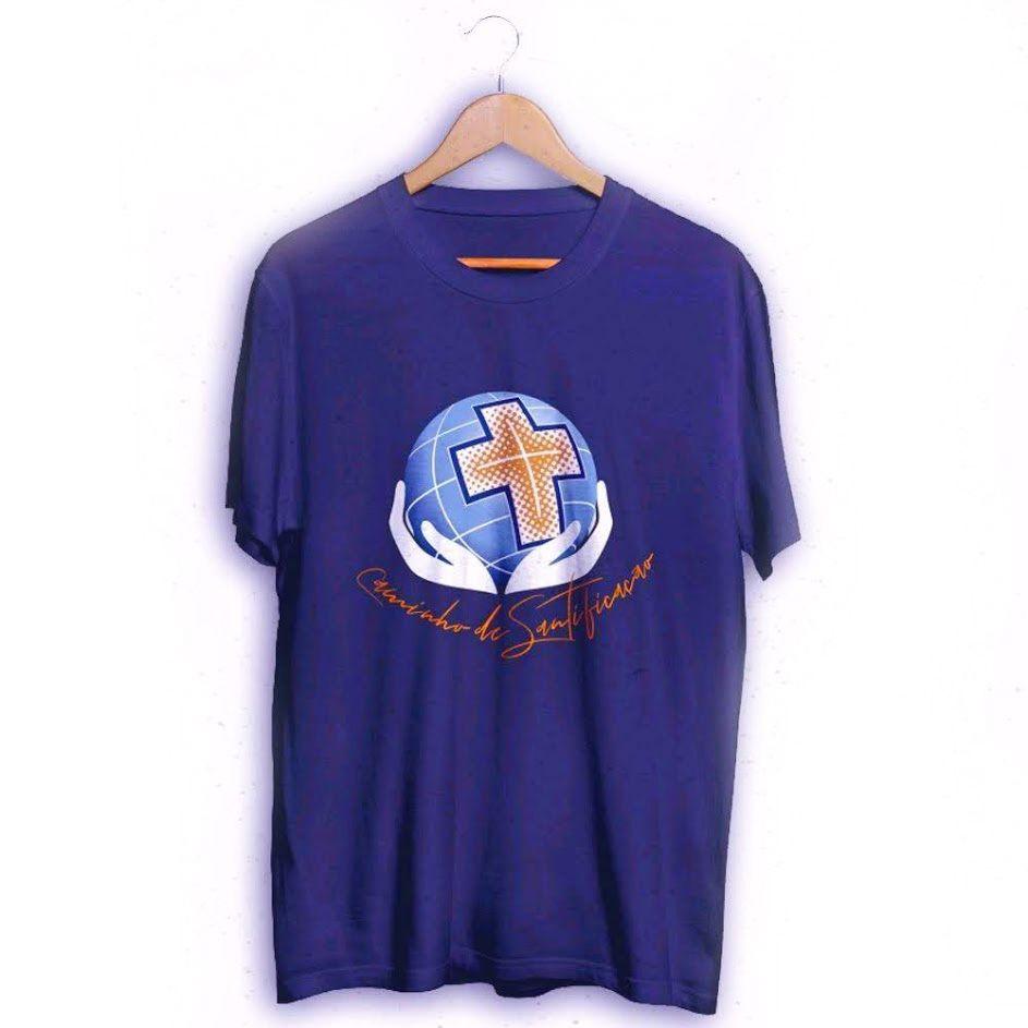 Camiseta Unissex - Caminho de Santificação  - Cursilho