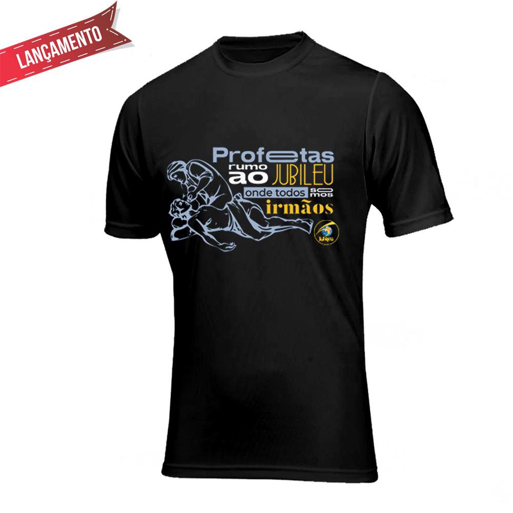 Camiseta Unissex - Profetas Rumo ao Jubileu - 60 anos