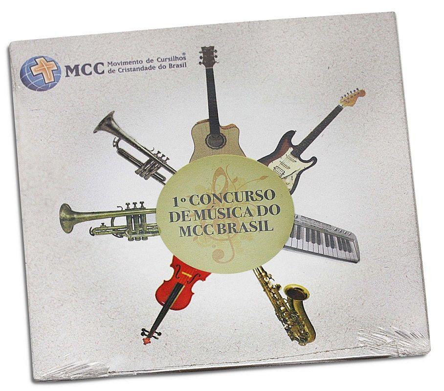 CD Primeiro Concurso de Música do MCC Brasil  - Cursilho