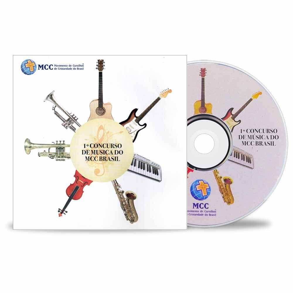 CD Primeiro Concurso de Música do MCC Brasil