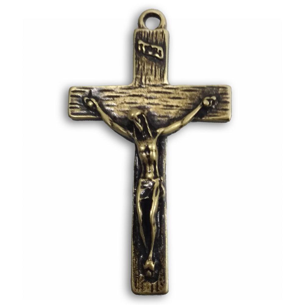 Crucifixo Grande Dourado, Conto com Você - MCC  - Cursilho