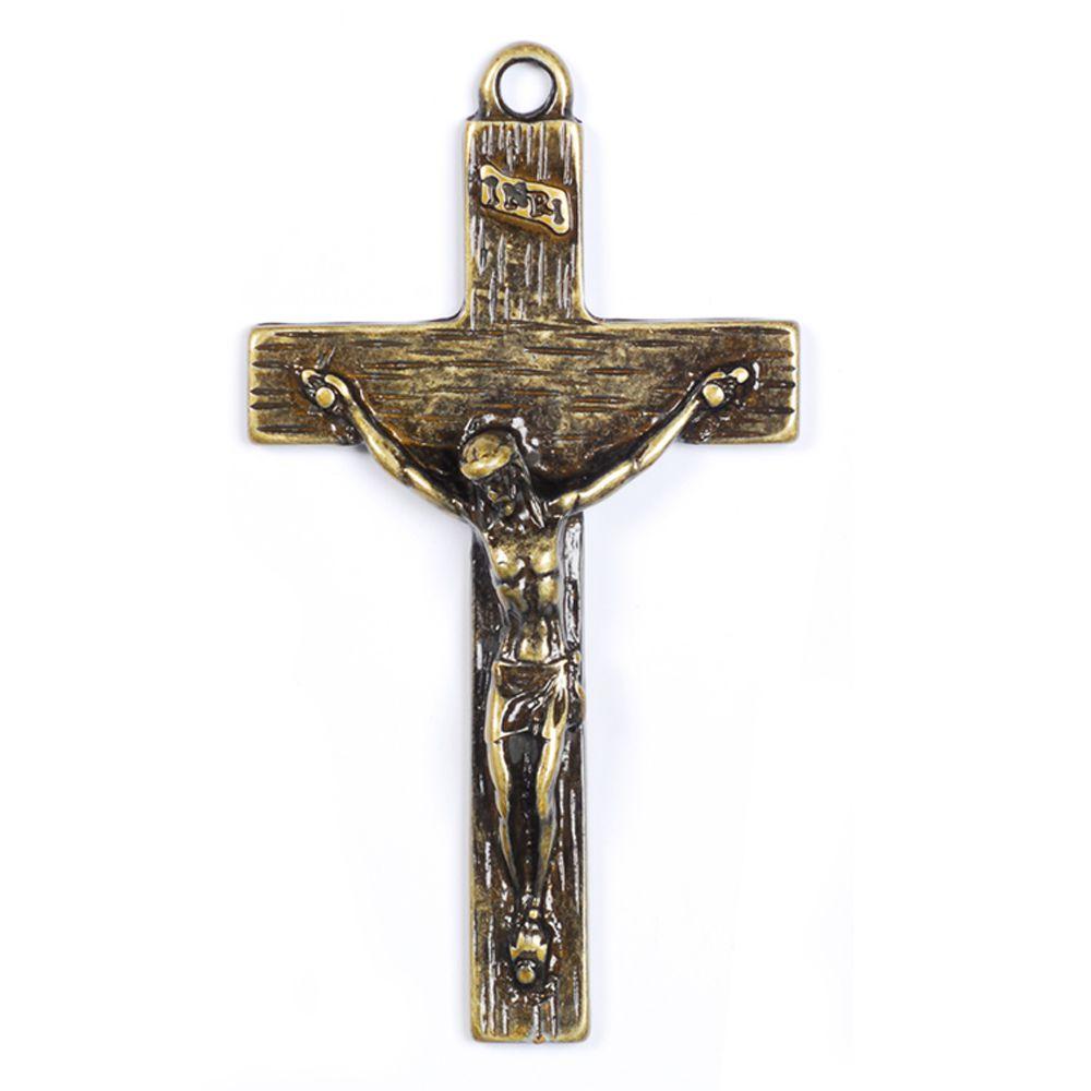 Crucifixo Grande Dourado, Conto com Você - MCC