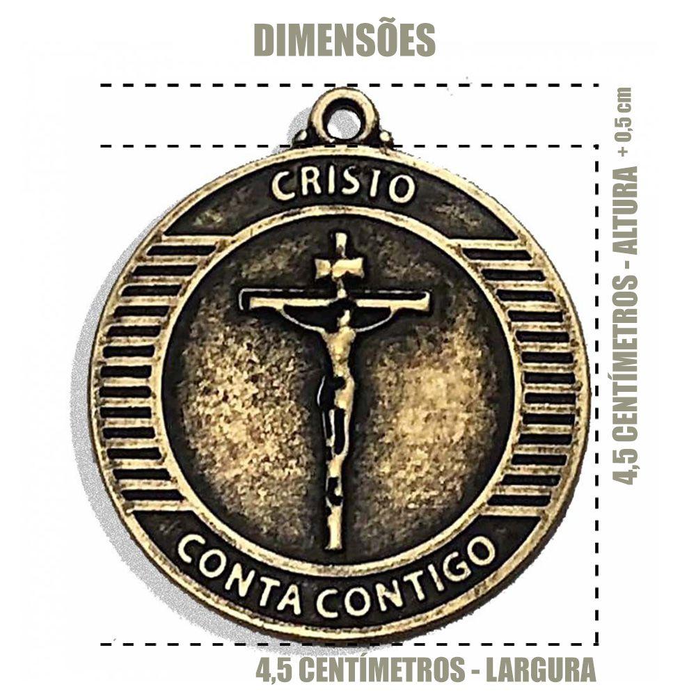Medalha em Resina Encontro Nacional  - Cursilho