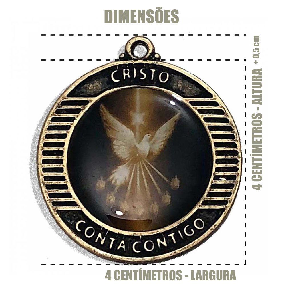 Medalha em Resina Espírito Santo  - Cursilho
