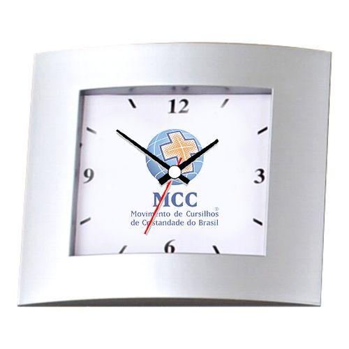 Relógio de Parede Retangular