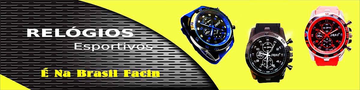 relógios de pulso esportivos