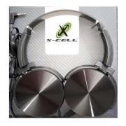Fone de ouvido preto X-Cell para Smartphone e pc