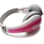 Fone De Ouvido Rosa Para Pc E Smartphone