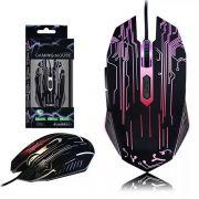Mouse Gamer Óptico Led Color usb