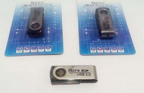 Adaptador Leitor de Cartão microSD