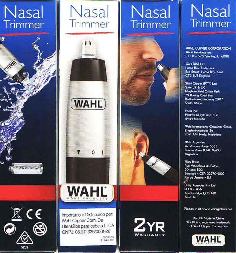 Aparador de Pelos Nasal Trimmer - Wahl