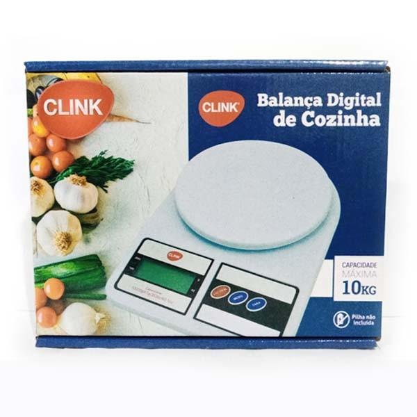 Balança Cozinha Digital pesa até 10kg