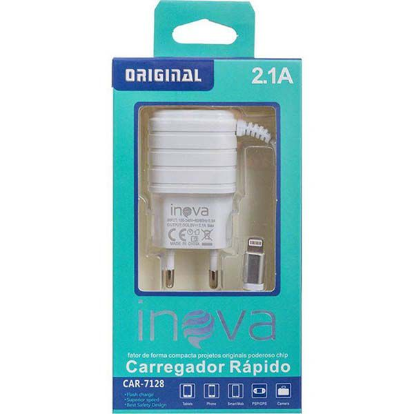 Carregador para iphone da inova