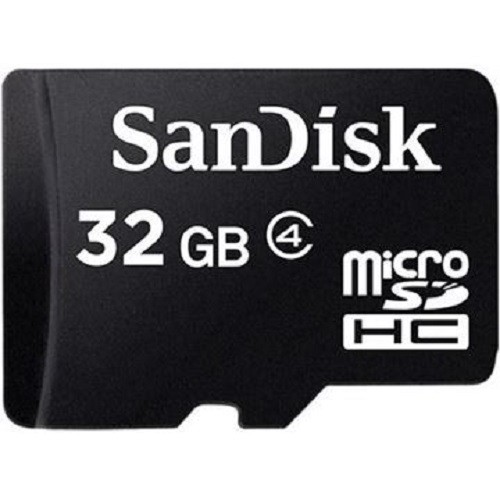 Cartão De Memória 32 giga micro Sd Sandisk com adaptador