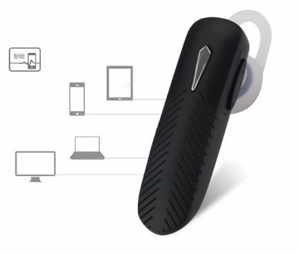 Fone de ouvido Bluetooth com bateria lítio da Exbom