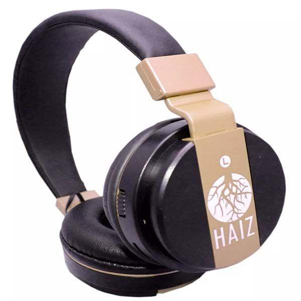 Fone de ouvido Bluetooth Rádio Mp3 Cartão Sd Ultrabass