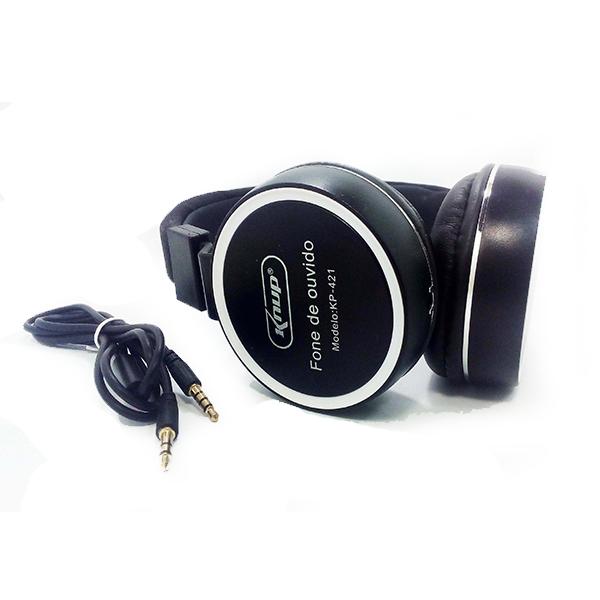 Fone de Ouvido com Microfone KP-421